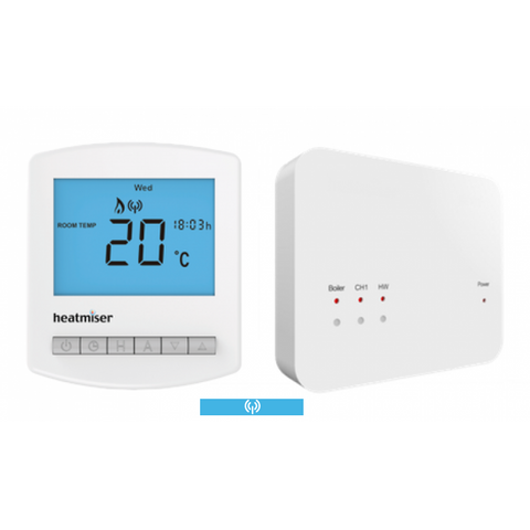 Heatmiser Multi Mode Slimline Wireless Thermostat - Slimline-RF Kit