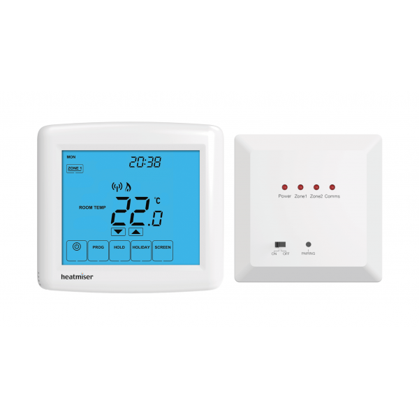 Heatmiser PRT-WTS Kit - Programmable Touchscreen Wireless Thermostat Kit