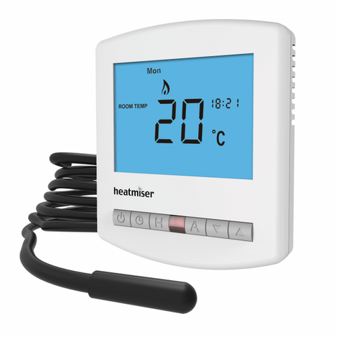 Heatmiser Slimline-E - Electric Floor Heating Thermostat