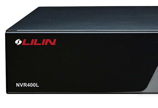 LILIN - NVR400L Multi-Touch Stand Alone Network Video Recorder