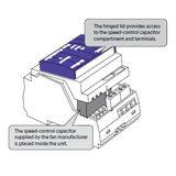 Clipsal - C-Bus Fan Control Relay