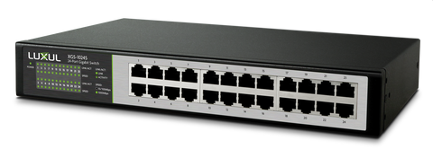 LUXUL - XGS-1024S  24-Port Gigabit Flex Mount Switch