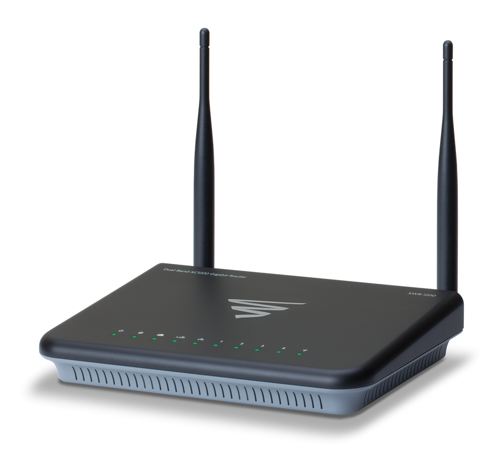 LUXUL - XWR-1200  Dual-Band Wireless AC1200 Gigabit Router