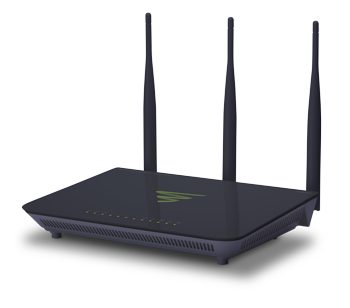 LUXUL - XWR-1750  High Power Dual-Band Wireless AC1750 Gigabit Router