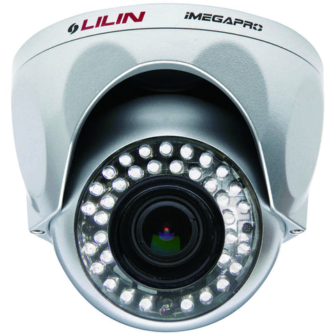 LILIN - LR6022X Day & Night 1080P HD Vandal Resistant Dome IR IP Camera