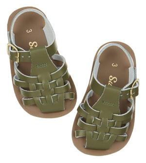 Salt-Water Sandals Toddler Sailor Olive