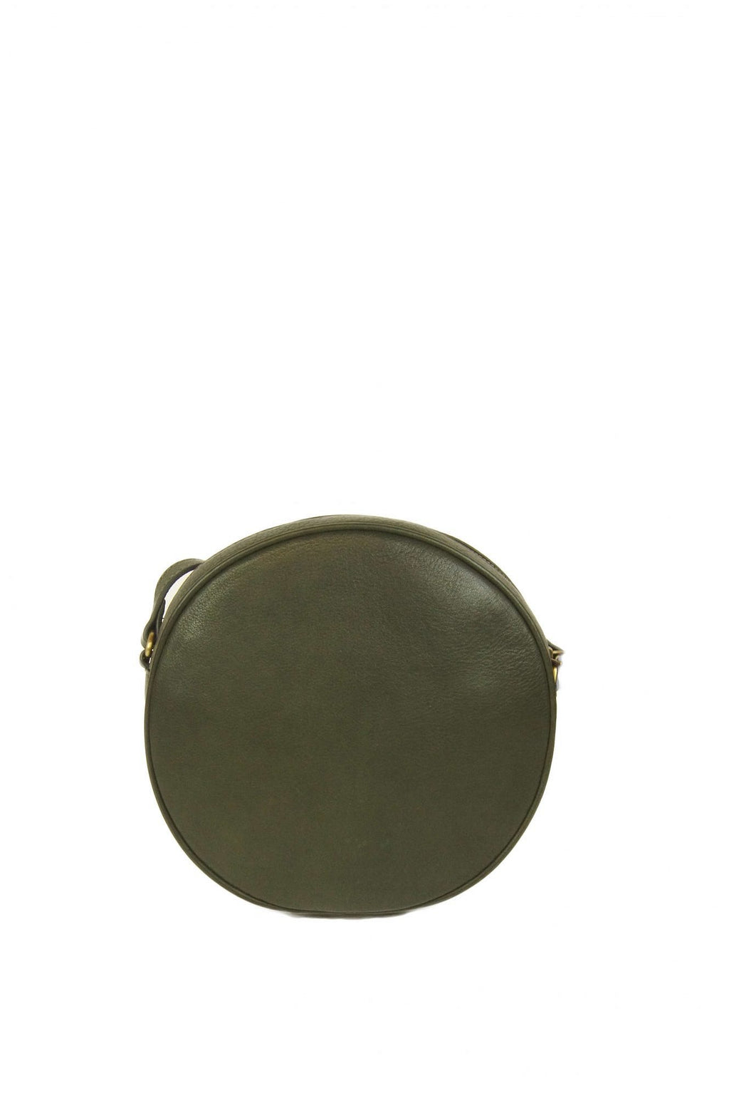 O My Bag Luna Bag Green Soft Grain Leather