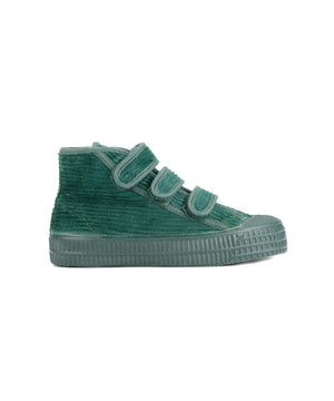 Novesta Star Dribble Kid Velcro Corduroy Mono Green