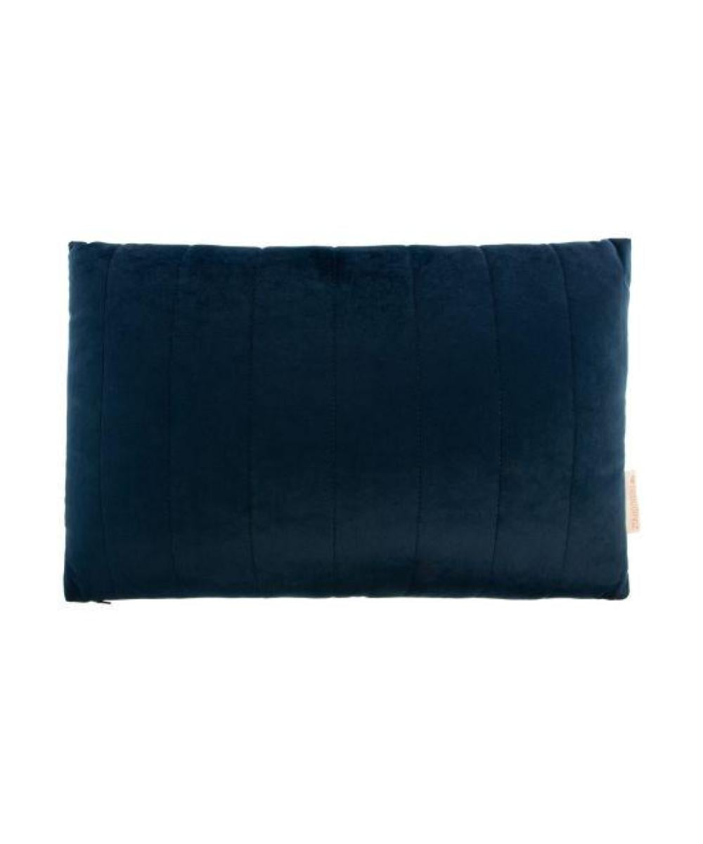 Nobodinoz Akamba Velvet Cushion Night Blue