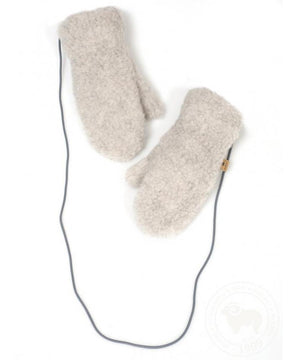 Wollen Handschoentjes Gully Junior Light Grey