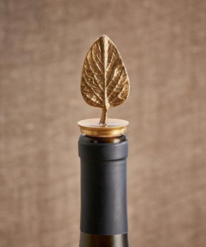 Nkuku Poplar Leaf Bottle Stopper