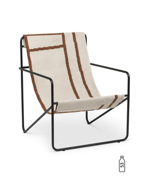 Ferm Living Desert Lounge Chair Black/Shape