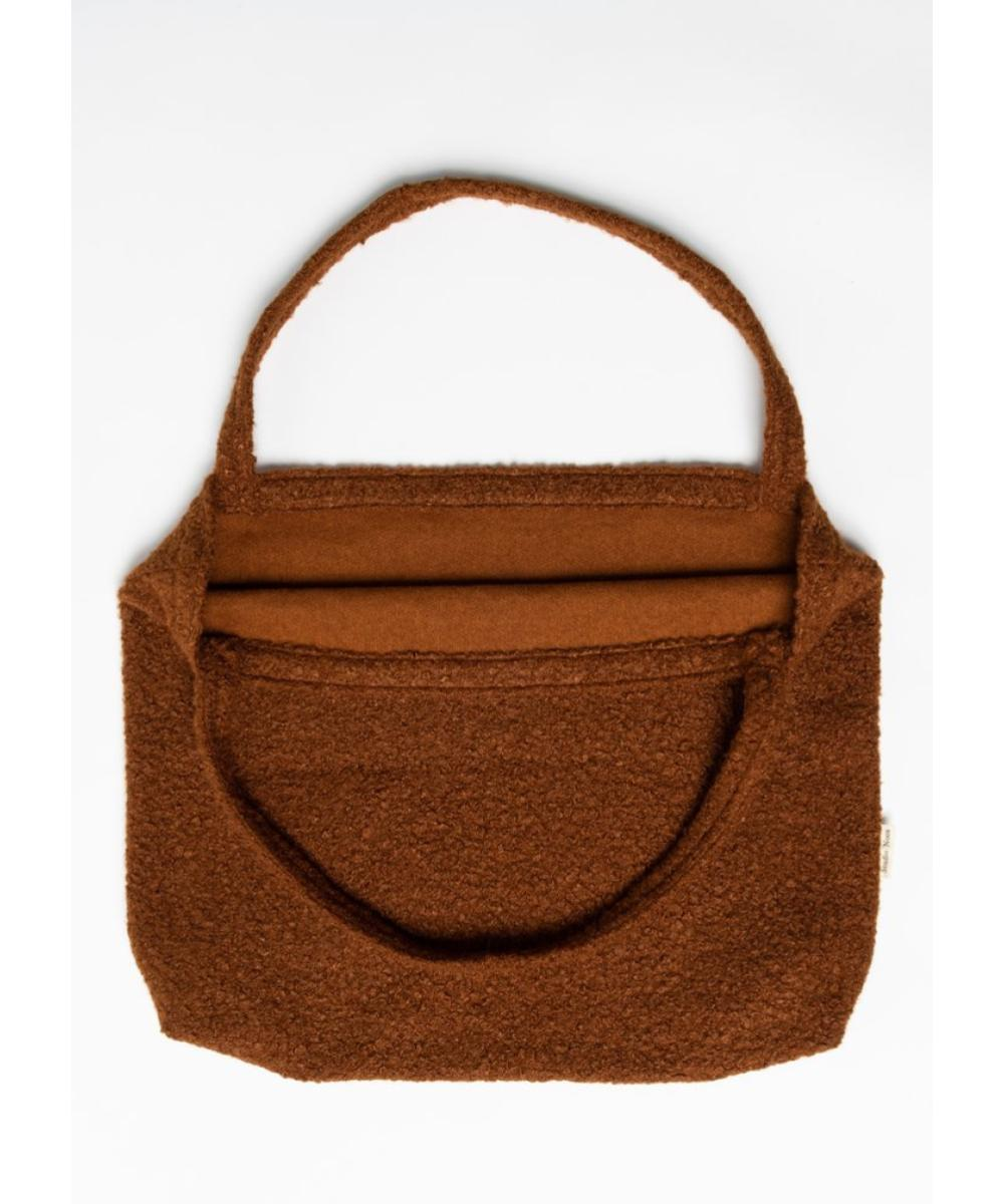 Studio Noos Cacao Bouclé Mom-Bag