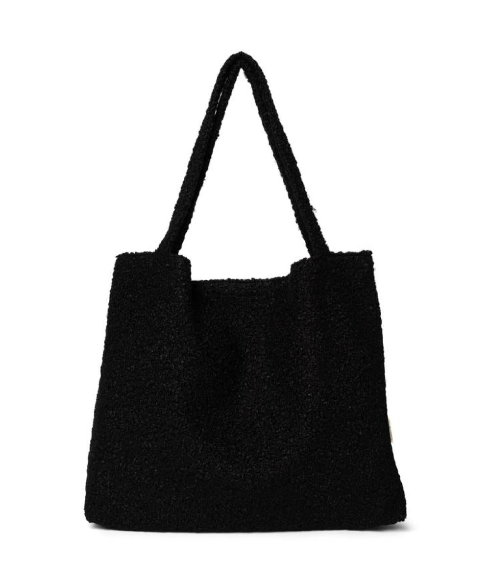 Studio Noos Black Bouclé Mom-Bag
