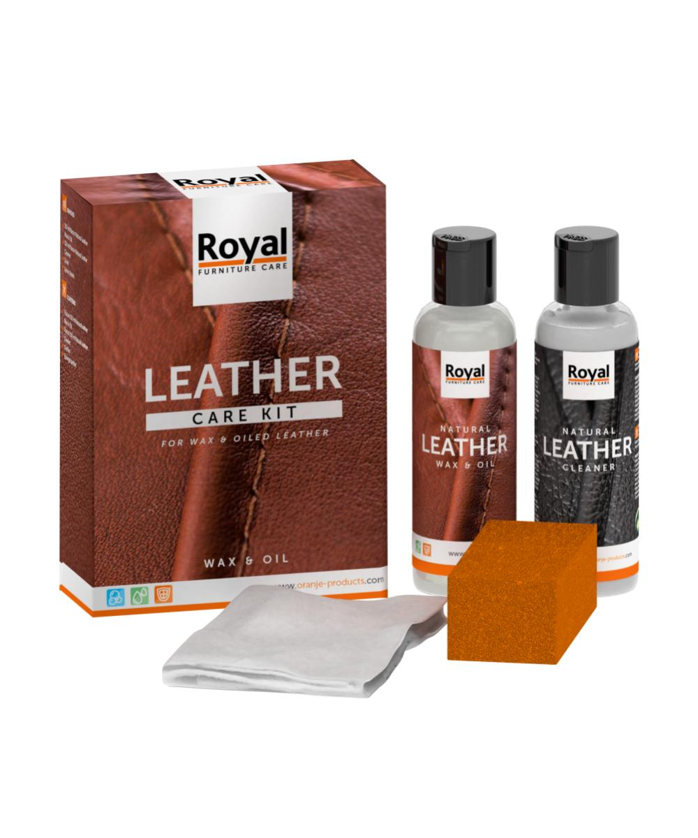 Leather Care Kit Wax & Oil