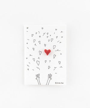 Studio Flash Hearts Confetti Heart Paper Waste