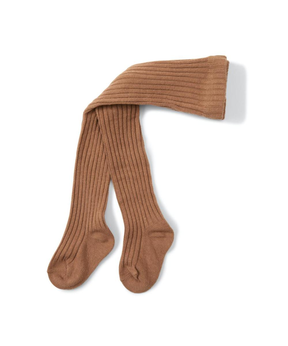 Konges Sløjd Rib Stockings Almond