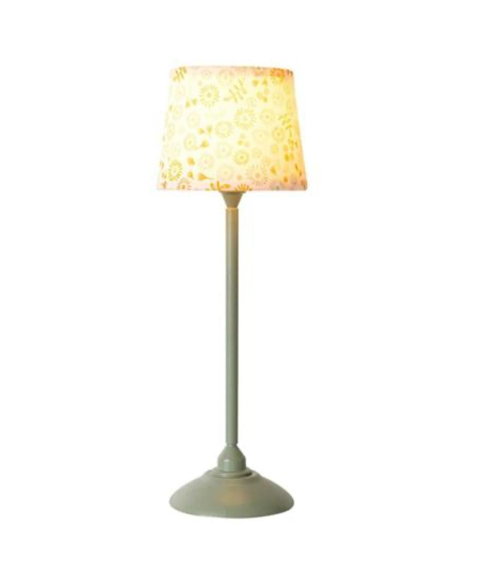 Maileg Miniature Floor Lamp Mint