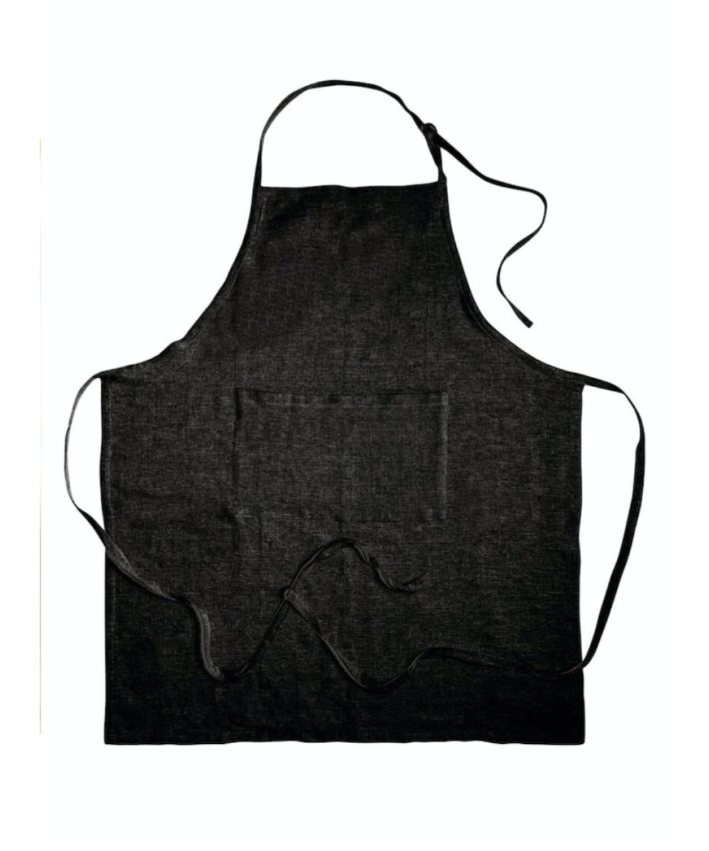 Original Home Apron Recycled Cotton Black