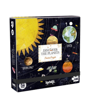 Londji Puzzel Pocket Discover the Planets