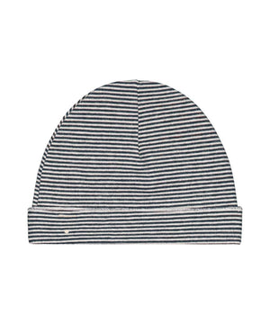 Gray Label Baby Beanie Blue Grey/Cream
