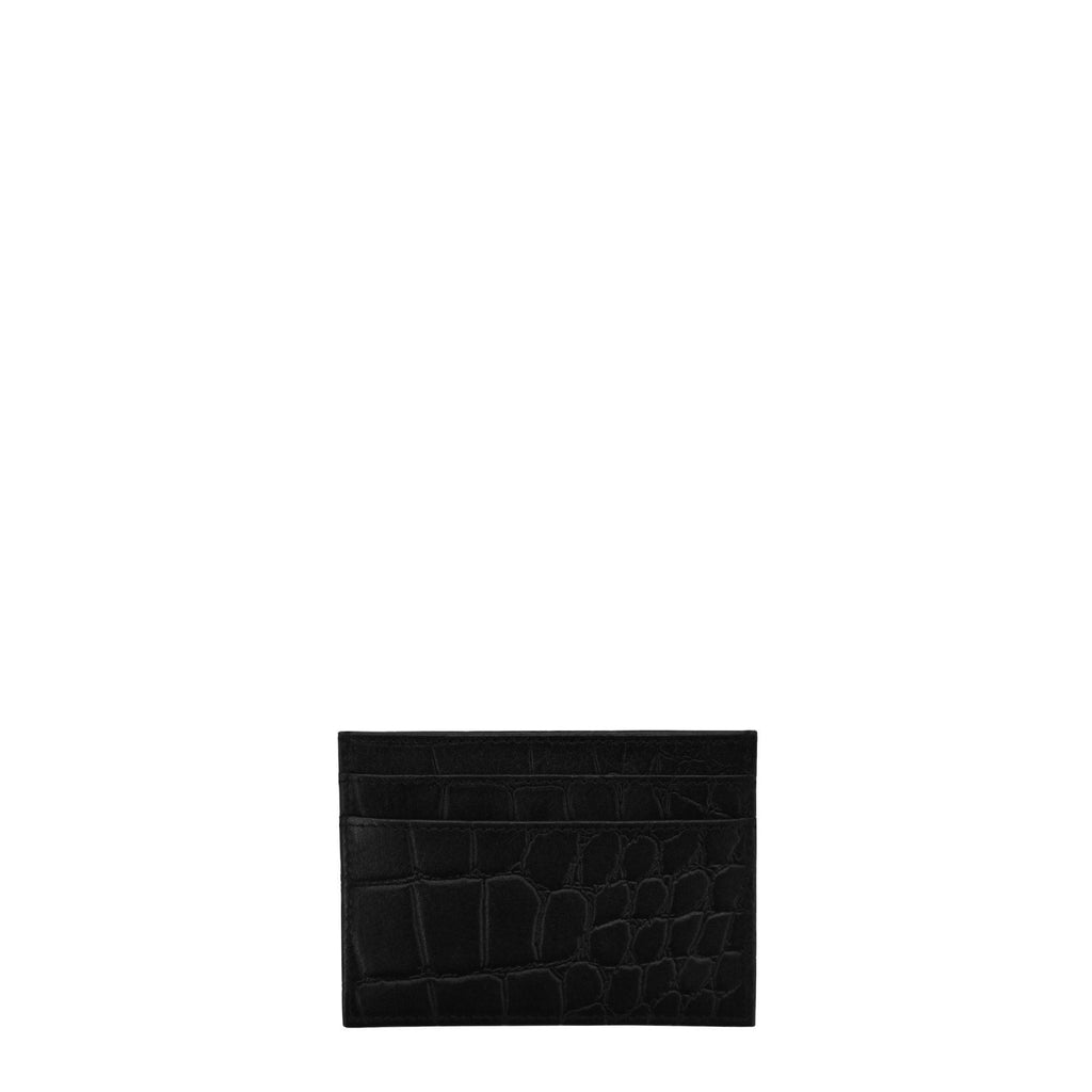 O My Bag Mark Cardcase Eco-Classic Black Croci