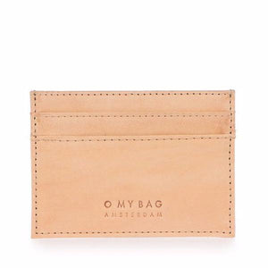 O My Bag Mark Cardcase Eco-Classic Natural