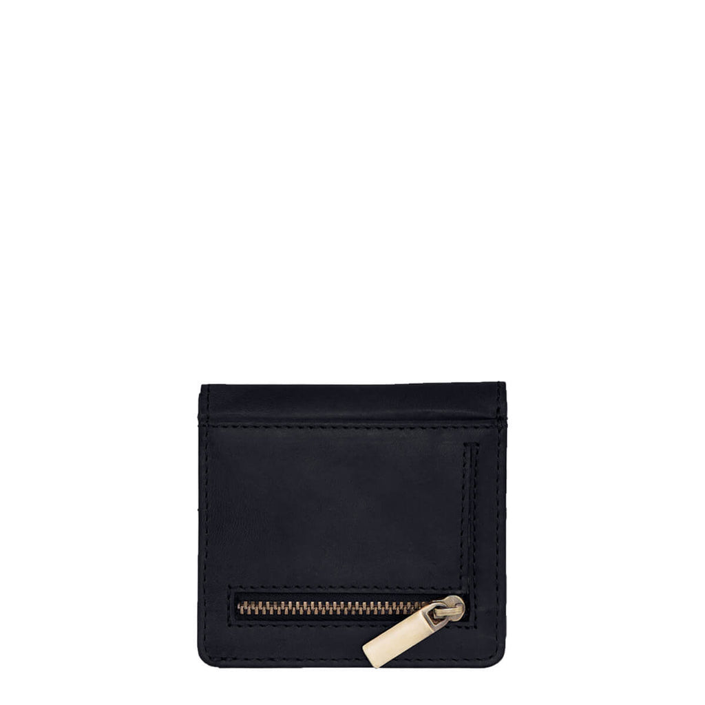 O My Bag Alex Fold-Over Wallet Eco-Classic Black