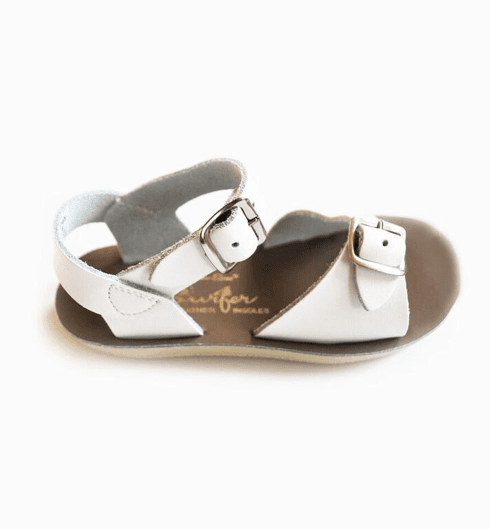 Salt-water Sandals Kids Surfer White