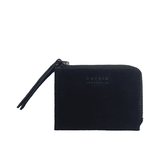 O My Bag Coin Purse Black Suede