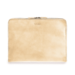 "Zipper Laptop Sleeve 15"" Eco-Classic Natural"