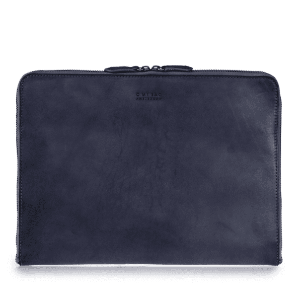"Zipper Laptop Sleeve 13"" Eco-Classic Navy"