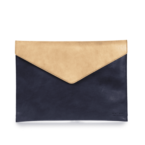 "Envelope Laptop Sleeve 13"" Eco-Classic Navy/Natural"
