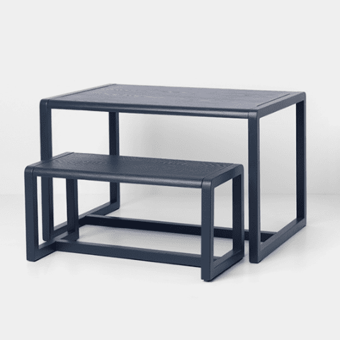 Ferm Living Little Architect Bank Donkerblauw