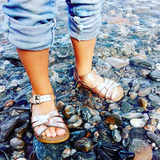Salt-Water Sandals Original Rose Gold Kids
