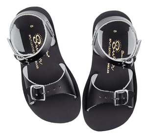 Salt-Water Sandals Kids Surfer Black