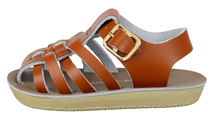 Salt-Water Sandals Toddler Sailor Tan