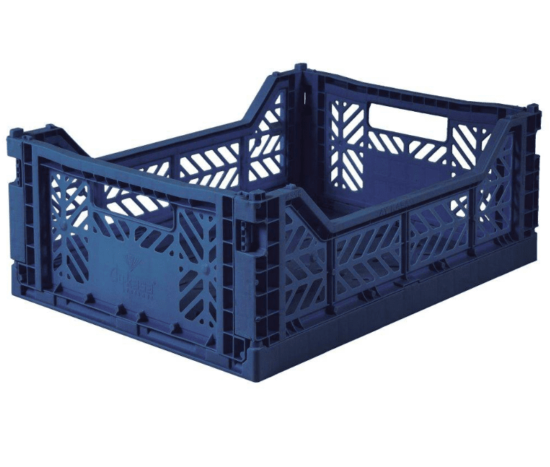 Aykasa Folding Crate - Midi Navy