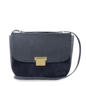 The Meghan Eco-Classic Navy/Suède