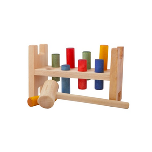 Wooden Story Rainbow Pound-A-Peg