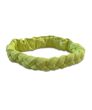 Cos I Said So Braided Headband Neon