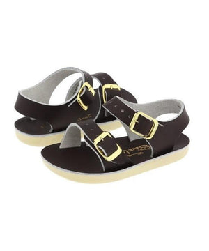 Salt-Water Sandals Toddler Seawee Brown