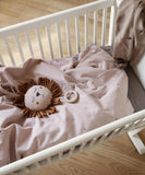 Ferm Living Bedlinnen Dot Embroidery Dusty Rose