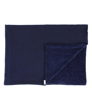 Les Rêves d'Anais Bliss Blue Fleece Blanket