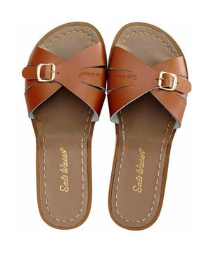 Salt-Water Sandals Adult Slide Tan