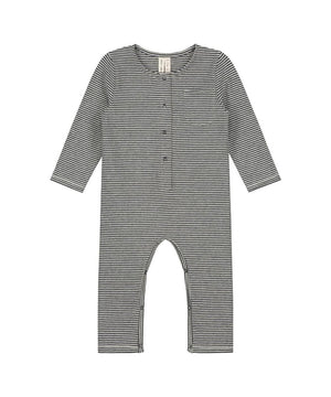 Gray Label Baby Playsuit Long Sleeves Stripes