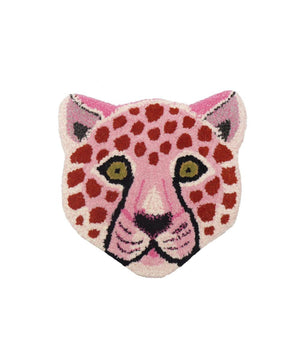 Doing Goods Pinky Leopard wandtapijtje