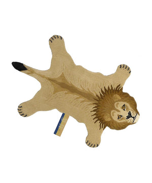 Doing Goods Moody Lion Rug Large Tan