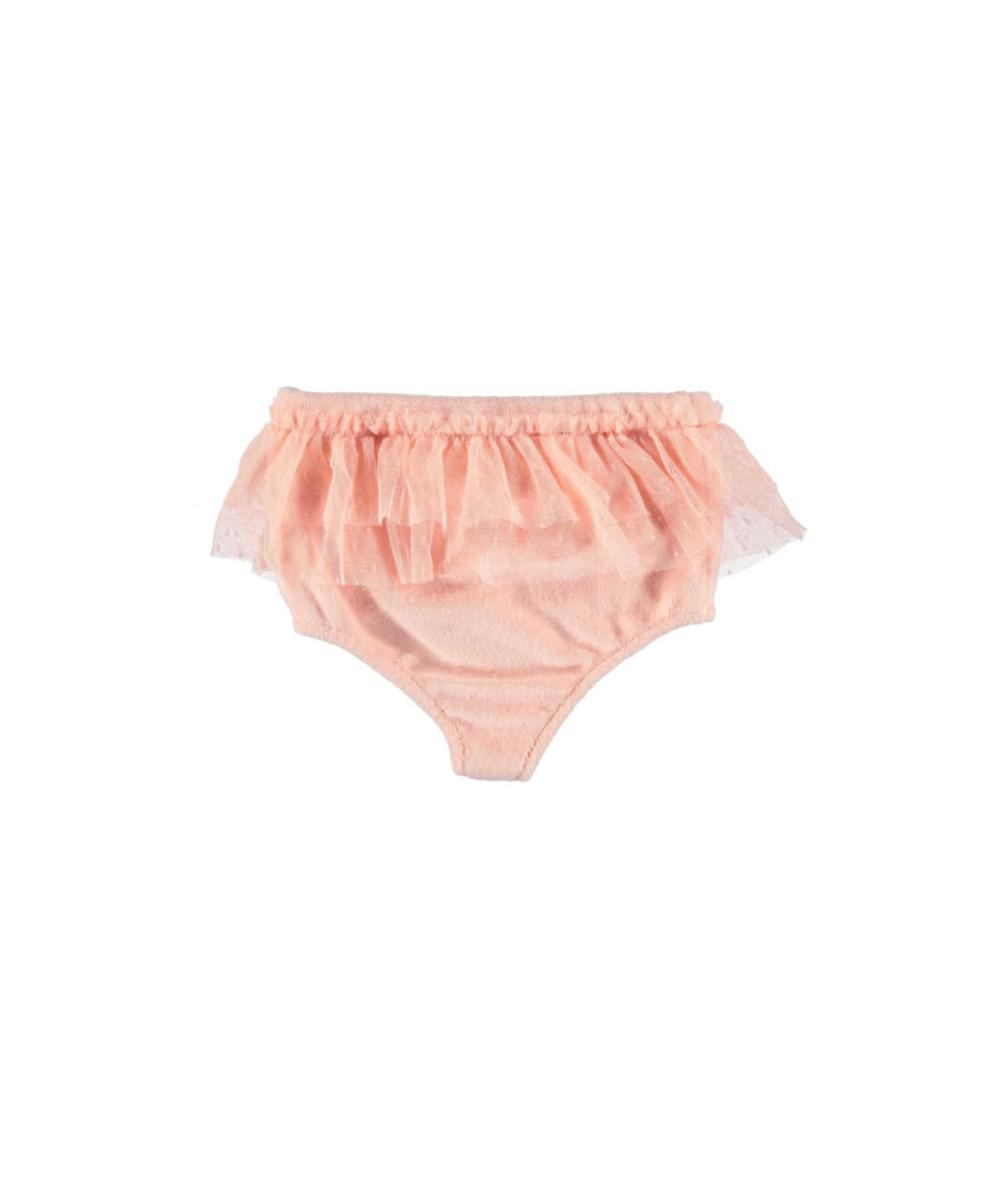 Piupiuchick Baby highwaist shorties pink