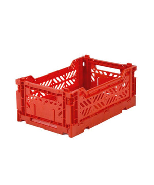 Aykasa Folding Crate - Mini Red